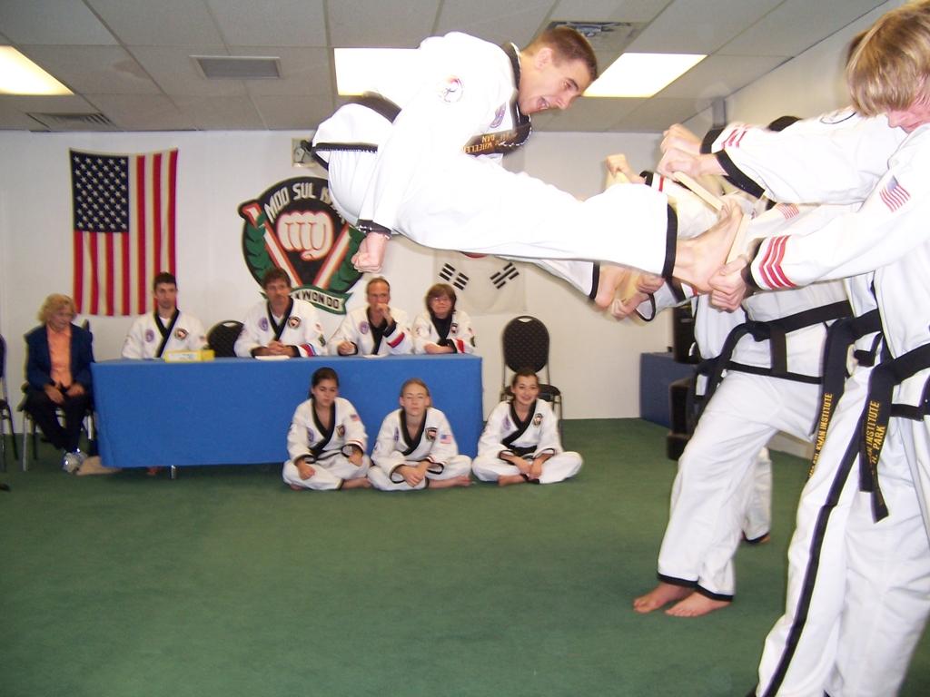 Twin Front Jump Kick