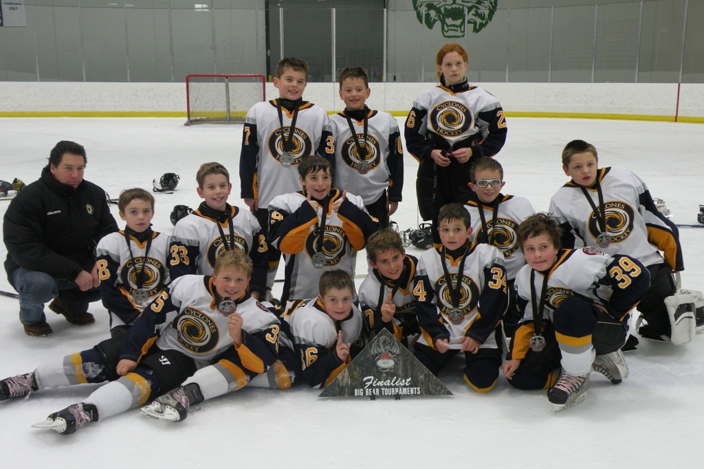 Jackson generals midget b hockey — 11