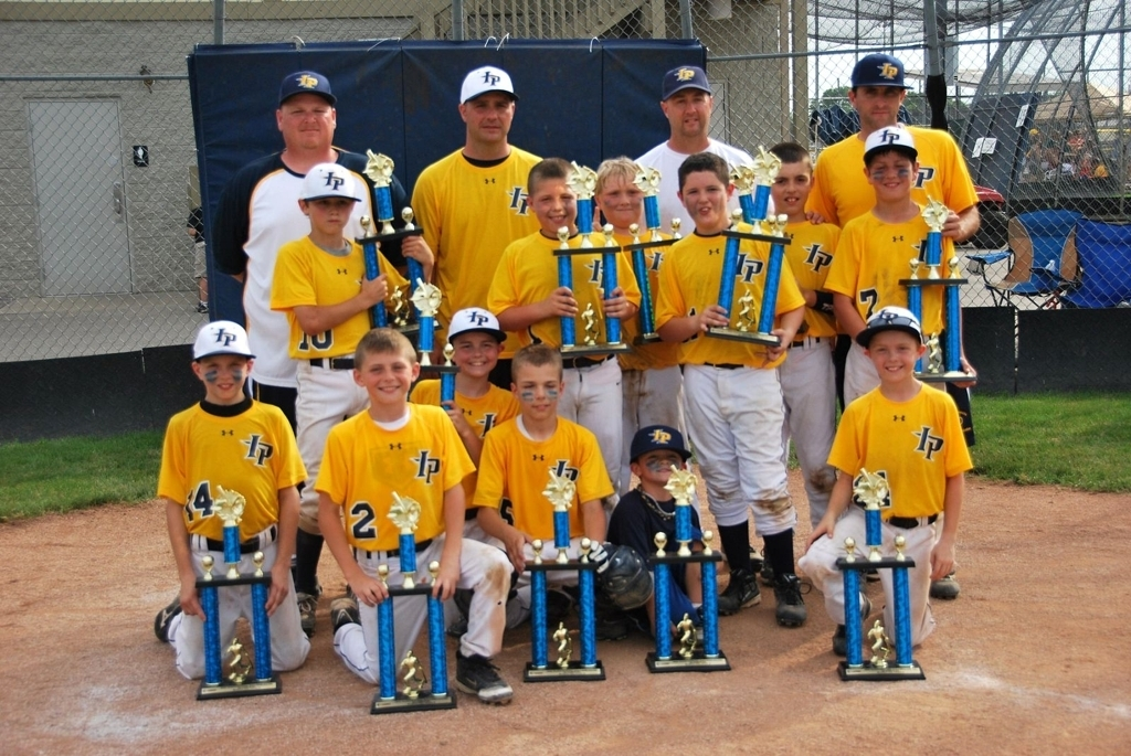 Fishers-HSE Youth Travel Baseball Tournament Champions