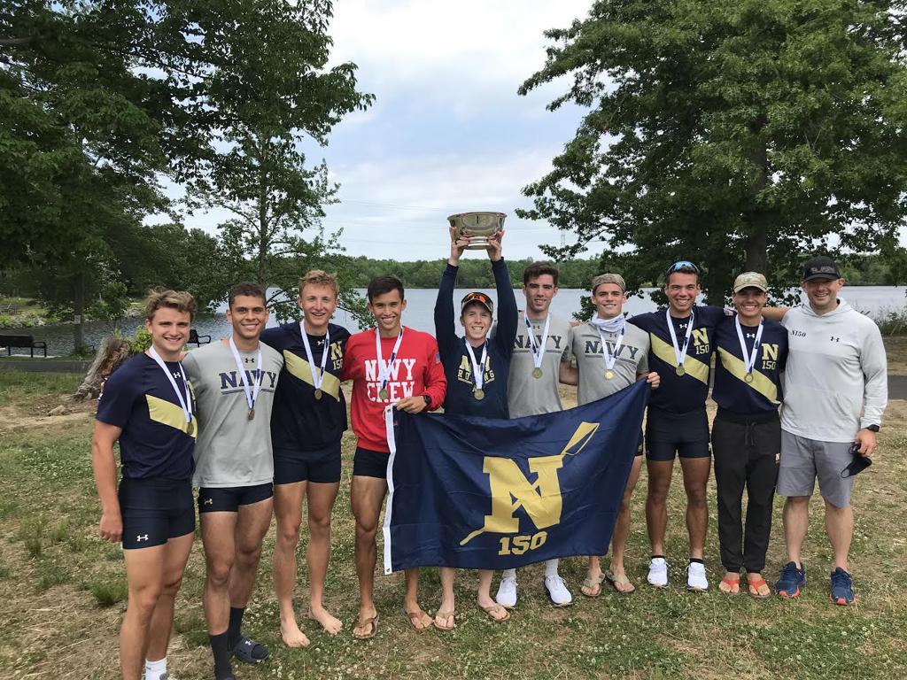 Connor Rex (TC ' 19 - red shirt & 4 seat) is a National Champion!