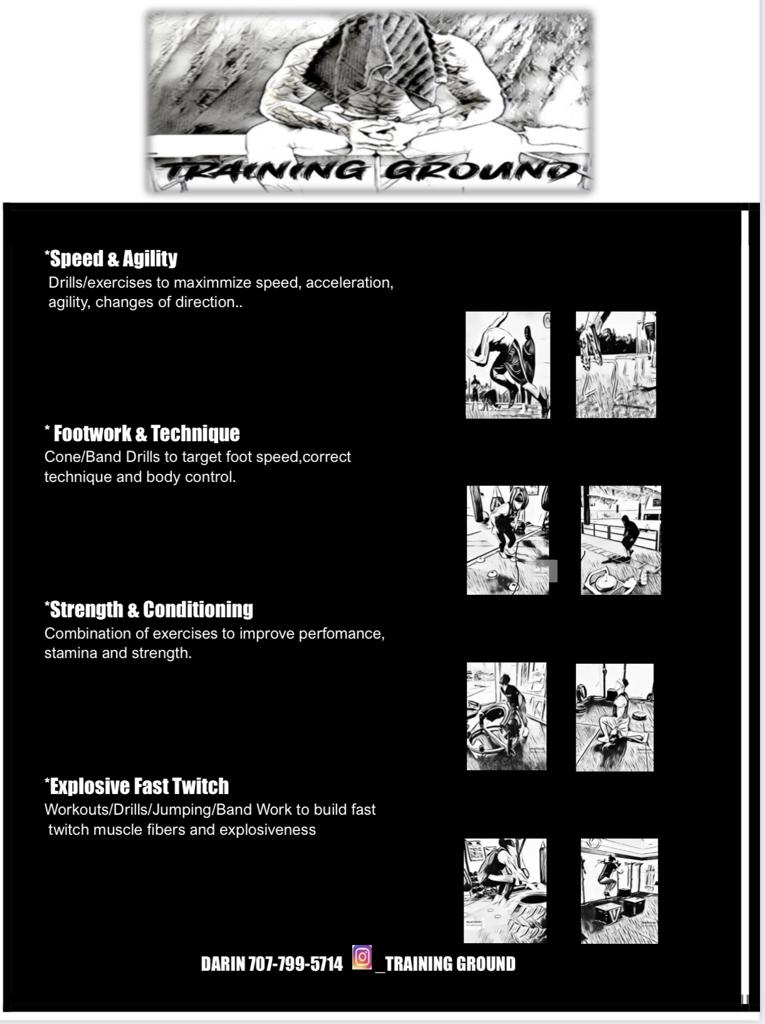 Personal Training @ CVBC Facility