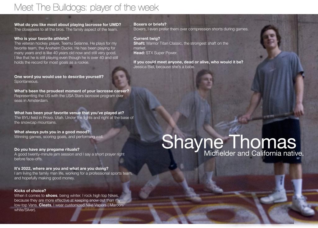 Shayne Thomas