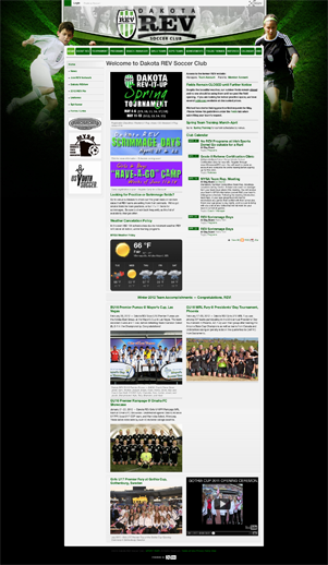 Dakota REV Soccer Club Homepage