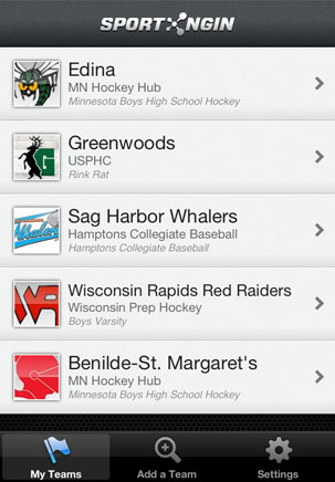 Sport Ngin Mobile Teams