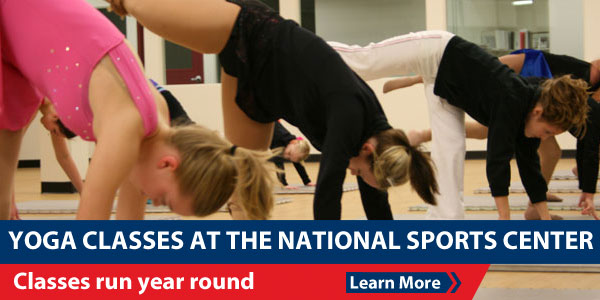 Yoga classes at the National Sports Center