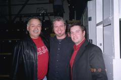 Reggie Leach with Jon Klassen and Mike Reagan
