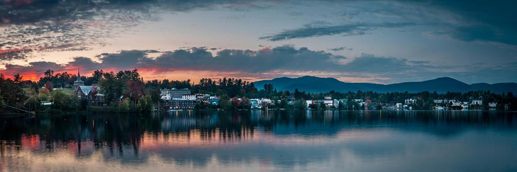 lake placid scenery