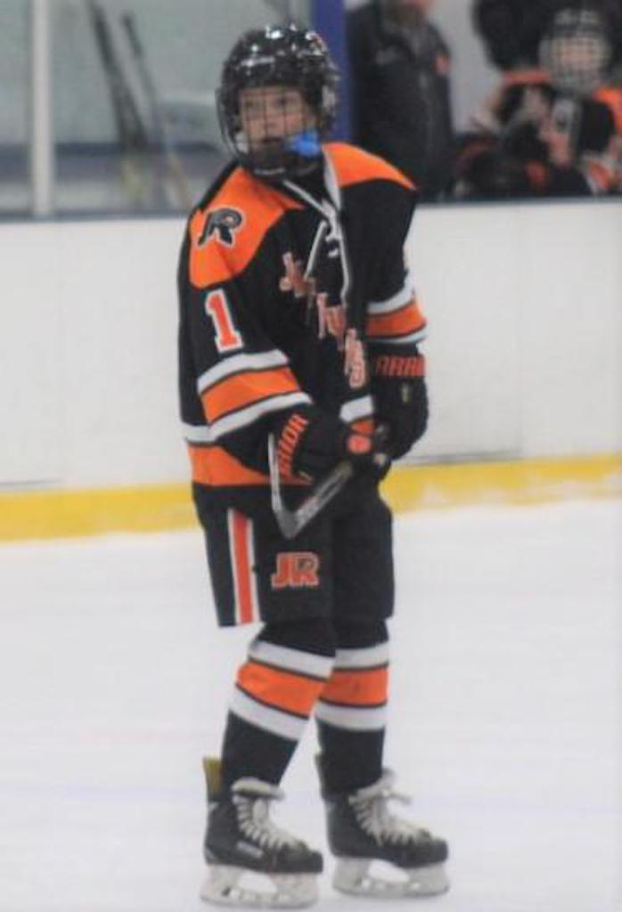 Declan Kelly named Jr. Flyers Player of the Week for week ending September 29.
