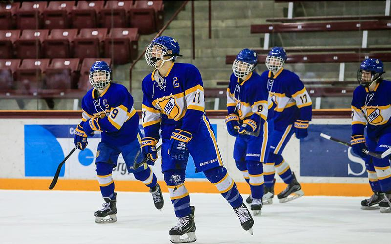 High-scoring St. Michael-Albertville has been one of the state's hottest teams in recent weeks. On Tuesday the Knights take on a Benilde-St. Margaret's team that has been equally successful recently. Photo by Mark Hvidsten, SportsEngine