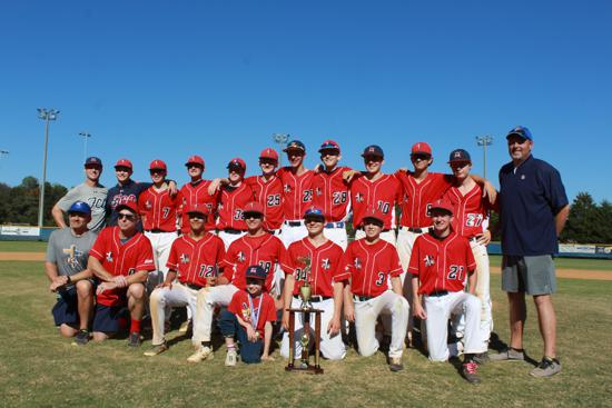 FCA Power with the Columbus Day Tournament trophy