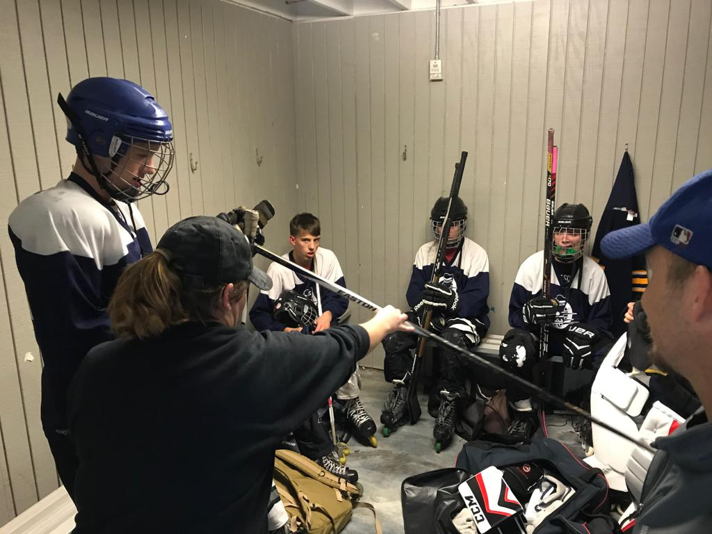 WCIHL Rolling Bluegrass in Dressing Room