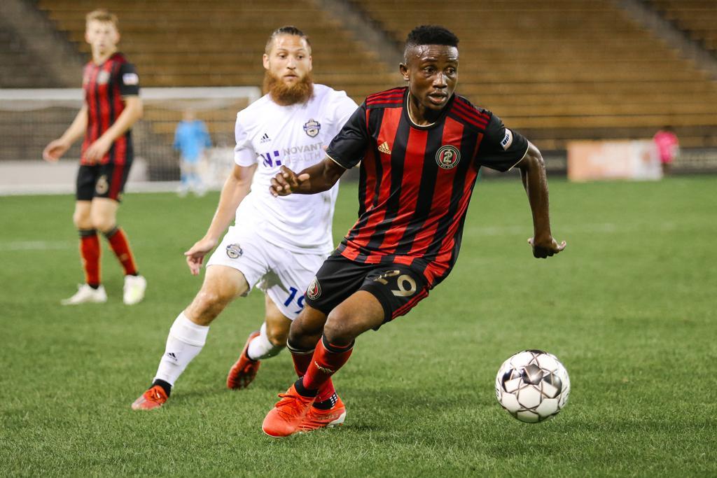 COLORADO SPRINGS SWITCHBACKS FC SIGN BIENVENUE KANAKIMANA
