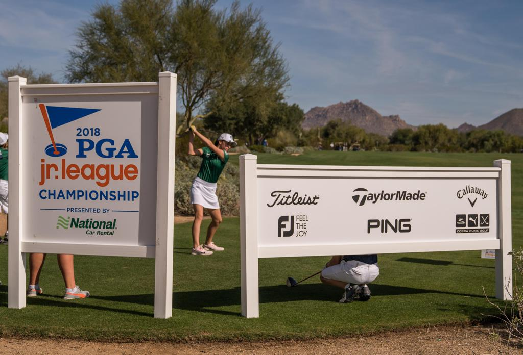 In addition to serving as the Presenting Partner at the PGA Jr. League Championship, National Car Rental supports PGA Jr. League all season long.
