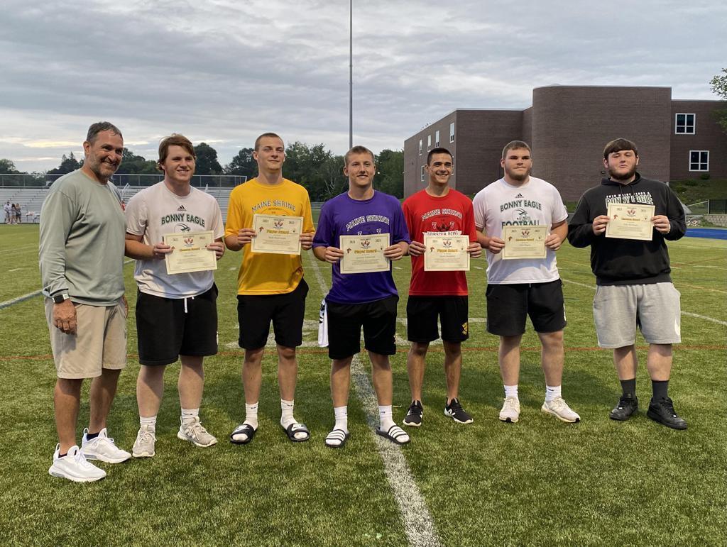 Coach Cooper, Eli LeBlanc, Bode DaCoombs, Garison Emerson, Jacob Humphrey, jJohn Dugan, Jake Harriman