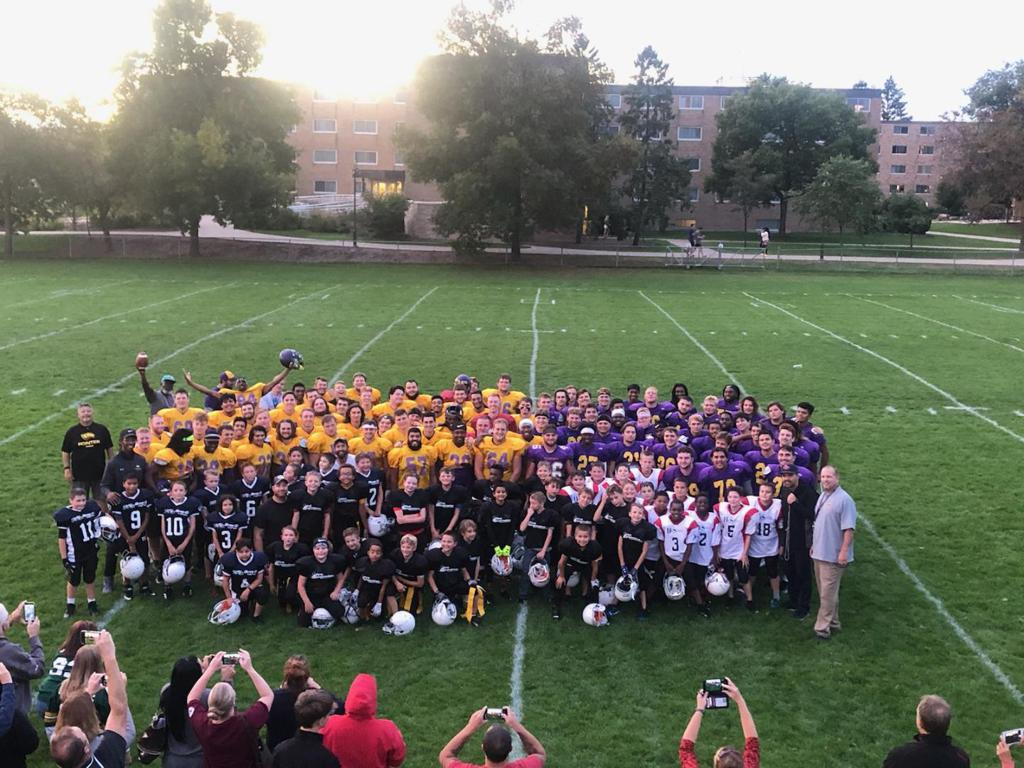 UWSP Joint Practice with YAF 2019