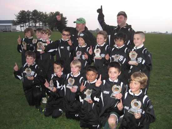 DYS U11 Boys - Hempfield Fall Classic Div A3 Champions!