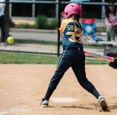 Maggie batting small