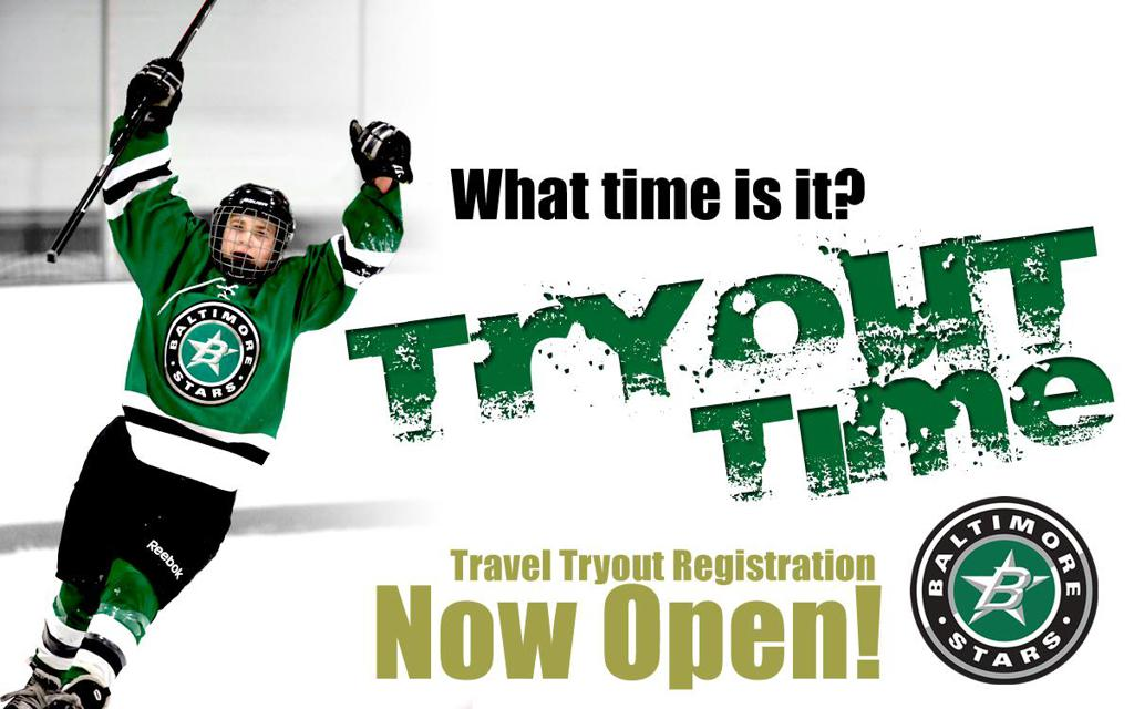 travel tryout registration open now