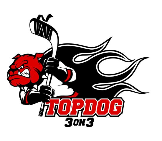 Top Dog 3 on 3 Logo