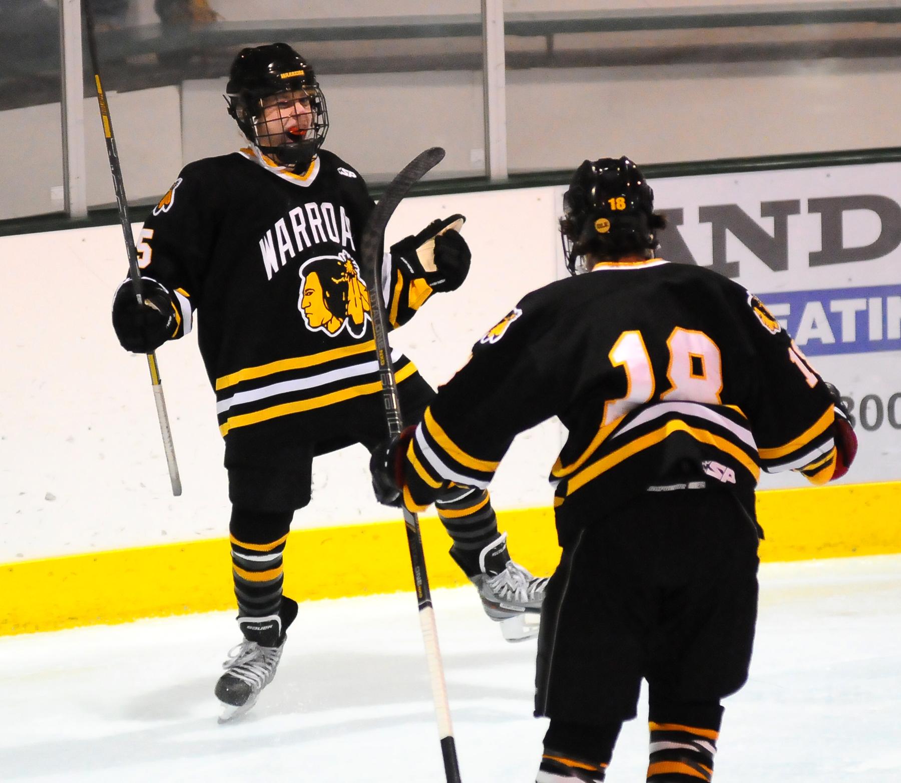Image result for warroad high school hockey