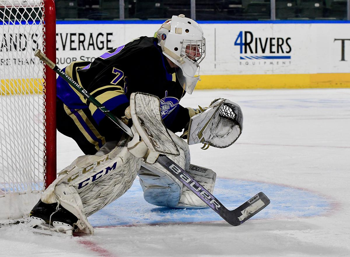 Goalie Sam Simon (pictured) has guided his Fort Collins team to back-to-back state tournament runner-up finishes. Now he'll be one of 20 players representing Team Colorado boys in the CCM NIT in Minnesota. Photo by Steven Robinson, SportsEngine