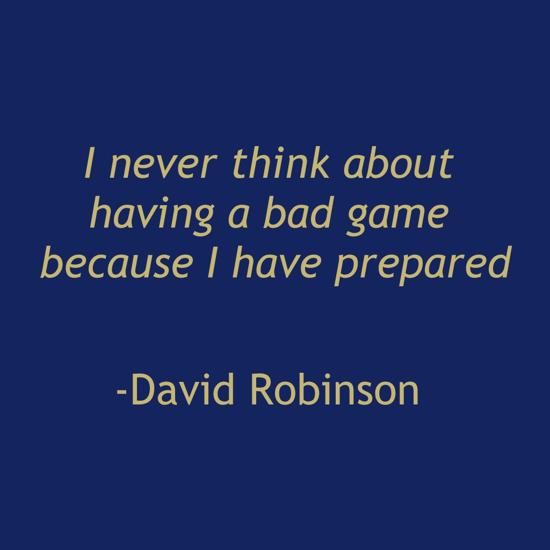 quotes by david robinson like success