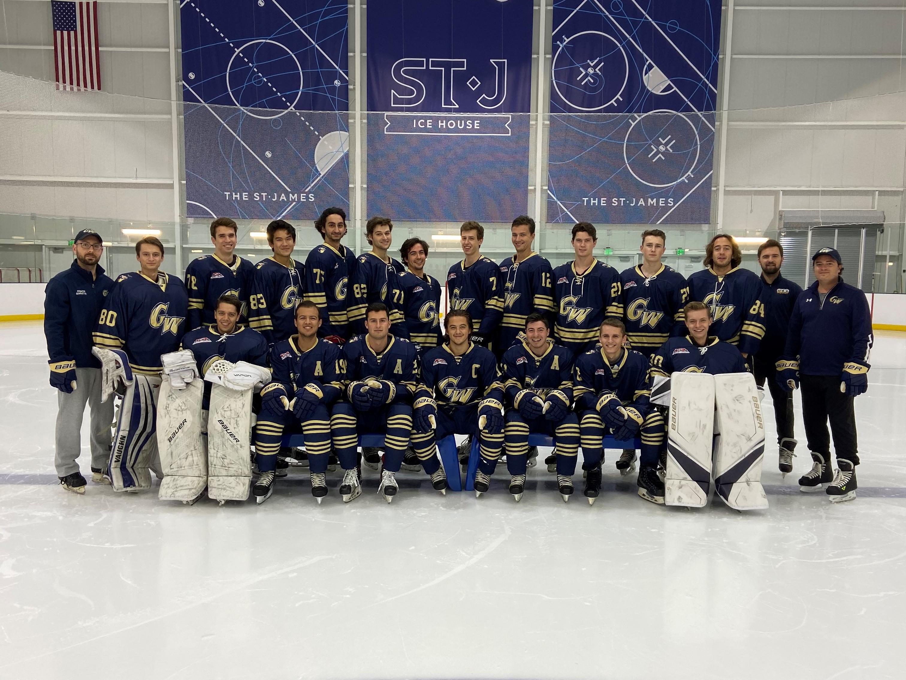 2019-2020 George Washington University Team Photo