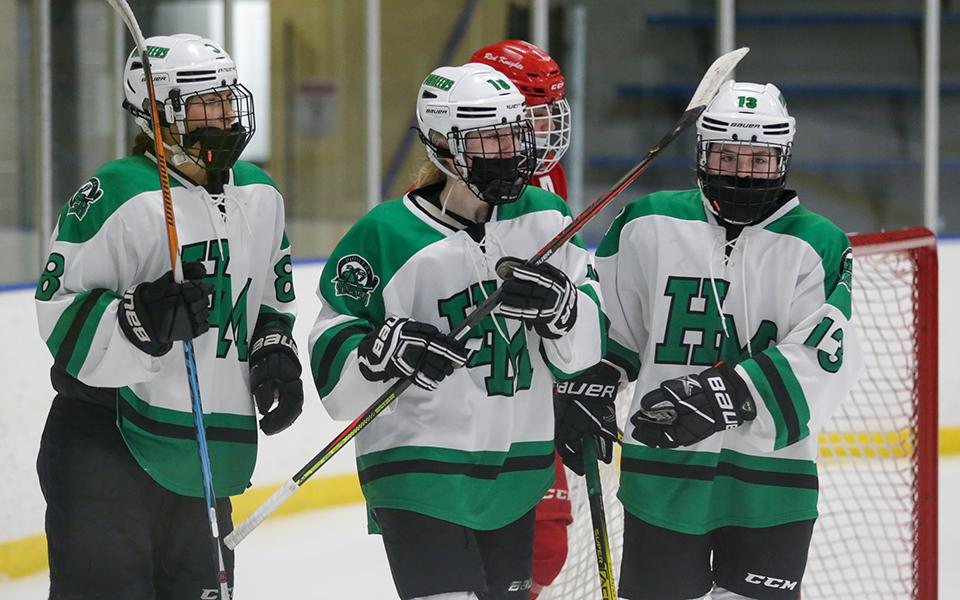 Hill-Murray, which has won eight of its nine games this season and is ranked No. 3 in Class 2A, takes on a high-powered Breck team Thursday night. Photo by Jeff Lawler, SportsEngine