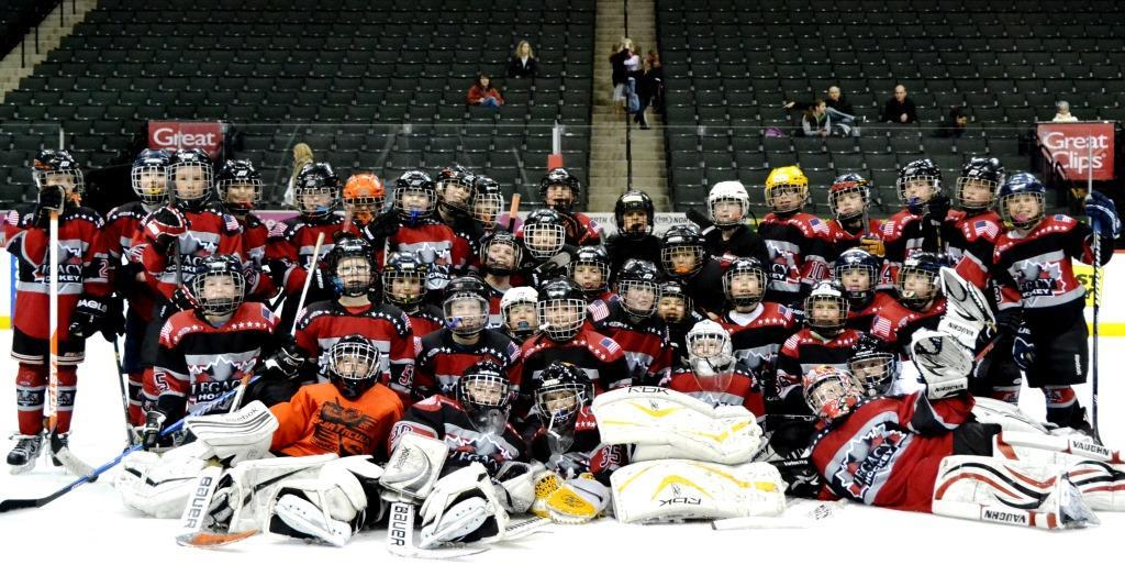 2003 Red and Black Teams Kicked Their Seasons Off At the Xcel Energy Center