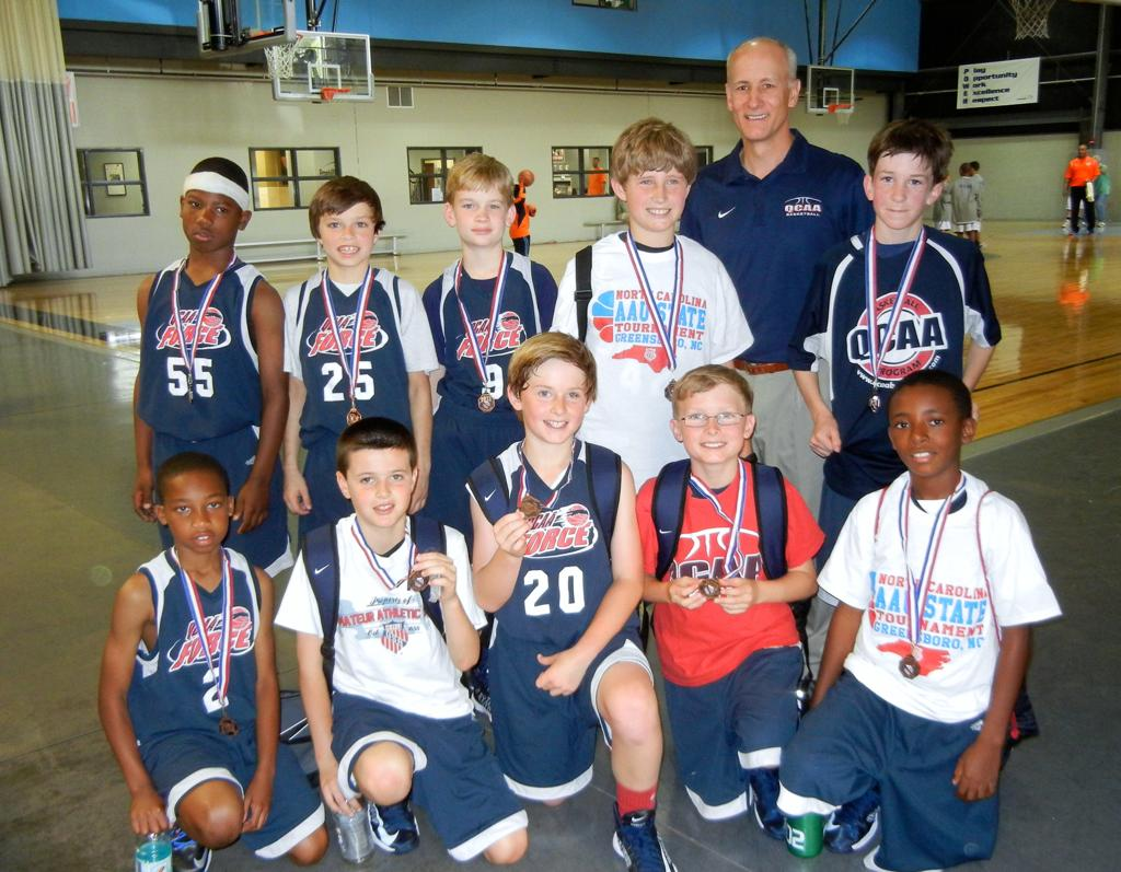 QCAA 4th Grade Red finishes 5th at NC AAU D2 states ...