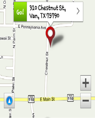 Van Community Center Map