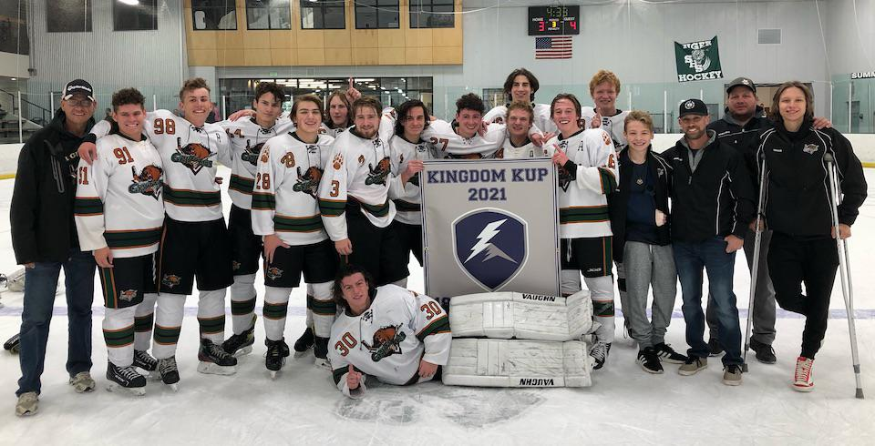 The Utah Junior Grizzlies 18U team took home the Greys Division tournament title at the 2021 Kingdom Kup. Submitted photo