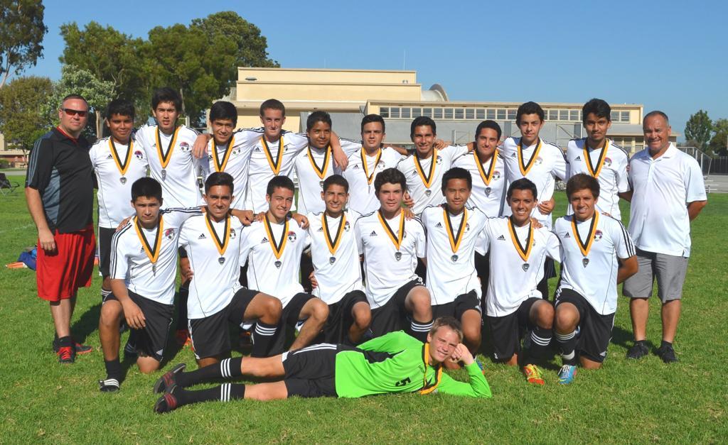 GLB United BU17 Cypress Cup Champions 2013