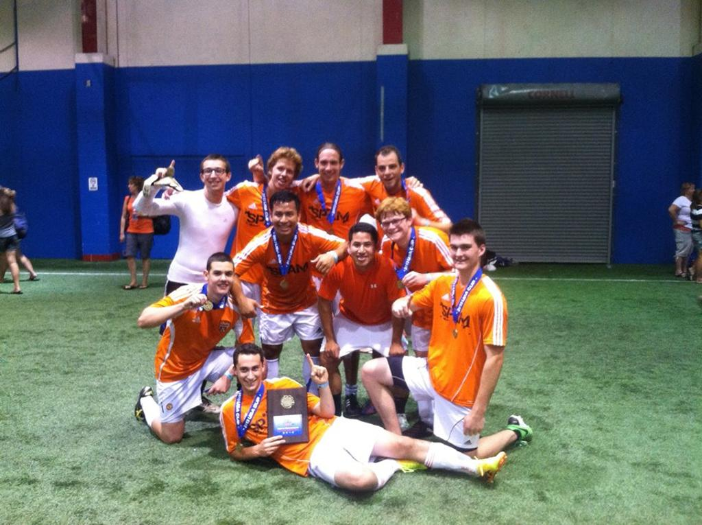 2013 USA CUP Indoor Recreational Champions SPAM FC