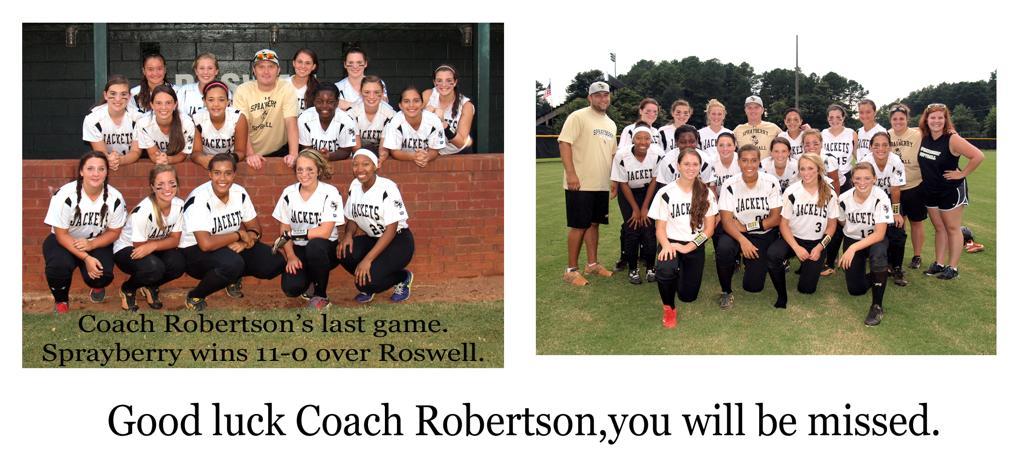 Robertson's last game.