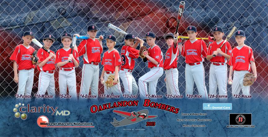 Little League Baseball Banners
