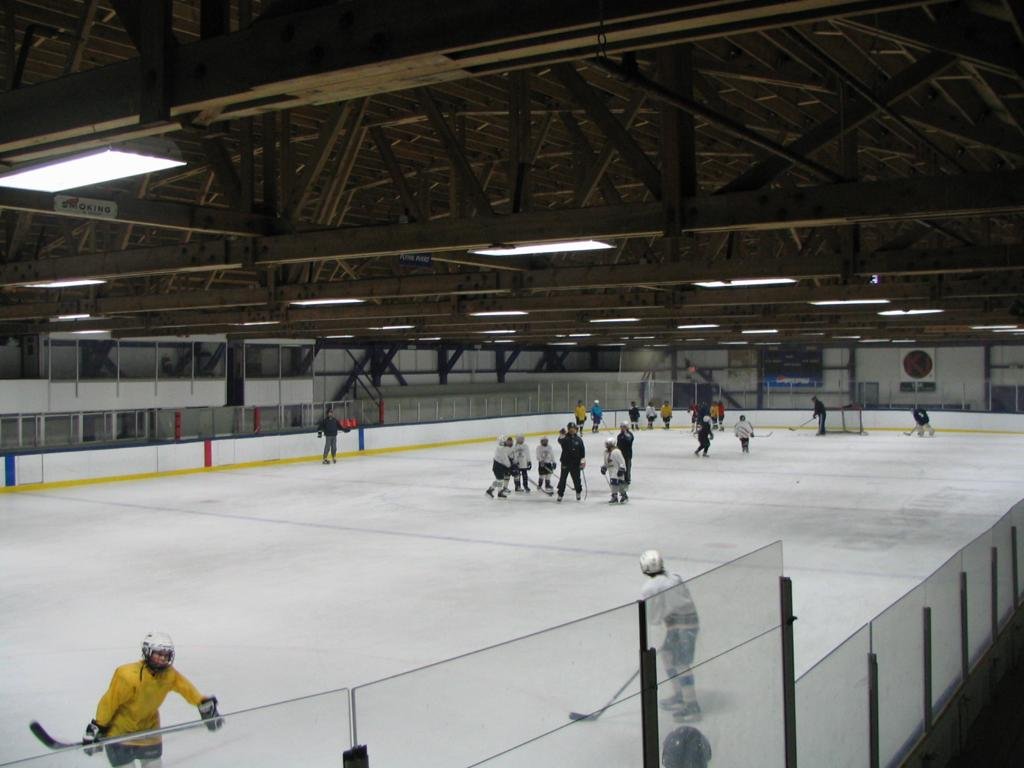 pine valley ice arena and cloquet recreation center