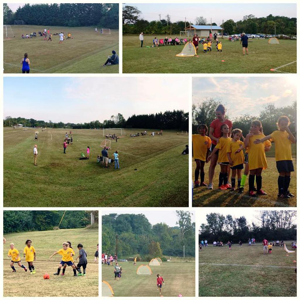 Fun day at Vulcan field with Oak Ridge Academy