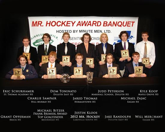 2013 Mr Hockey Awards