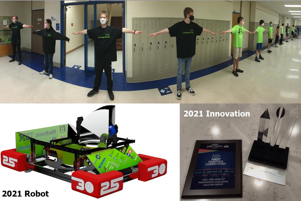 2021 Season Robot + Innovation Challenge Semi-Finalist!
