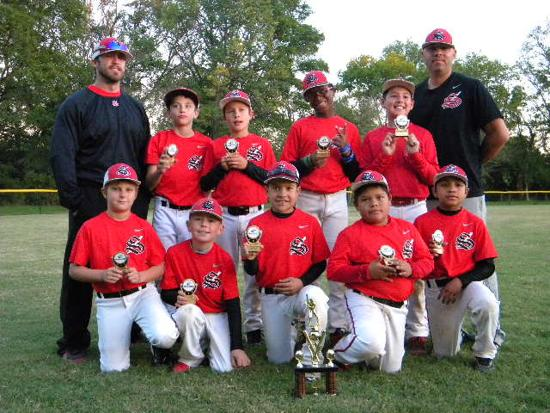 10U STIX CAME IN 2ND PLACE AT 2013 FALL NATIONALS 11U AA , AAA NIT