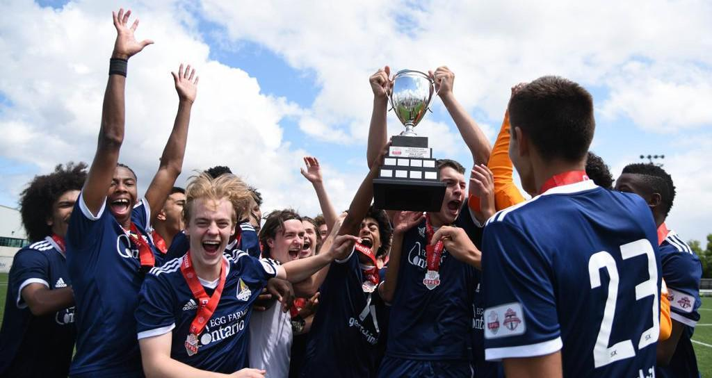 Whitby FC - U17 Boys OPDL CUP Champions