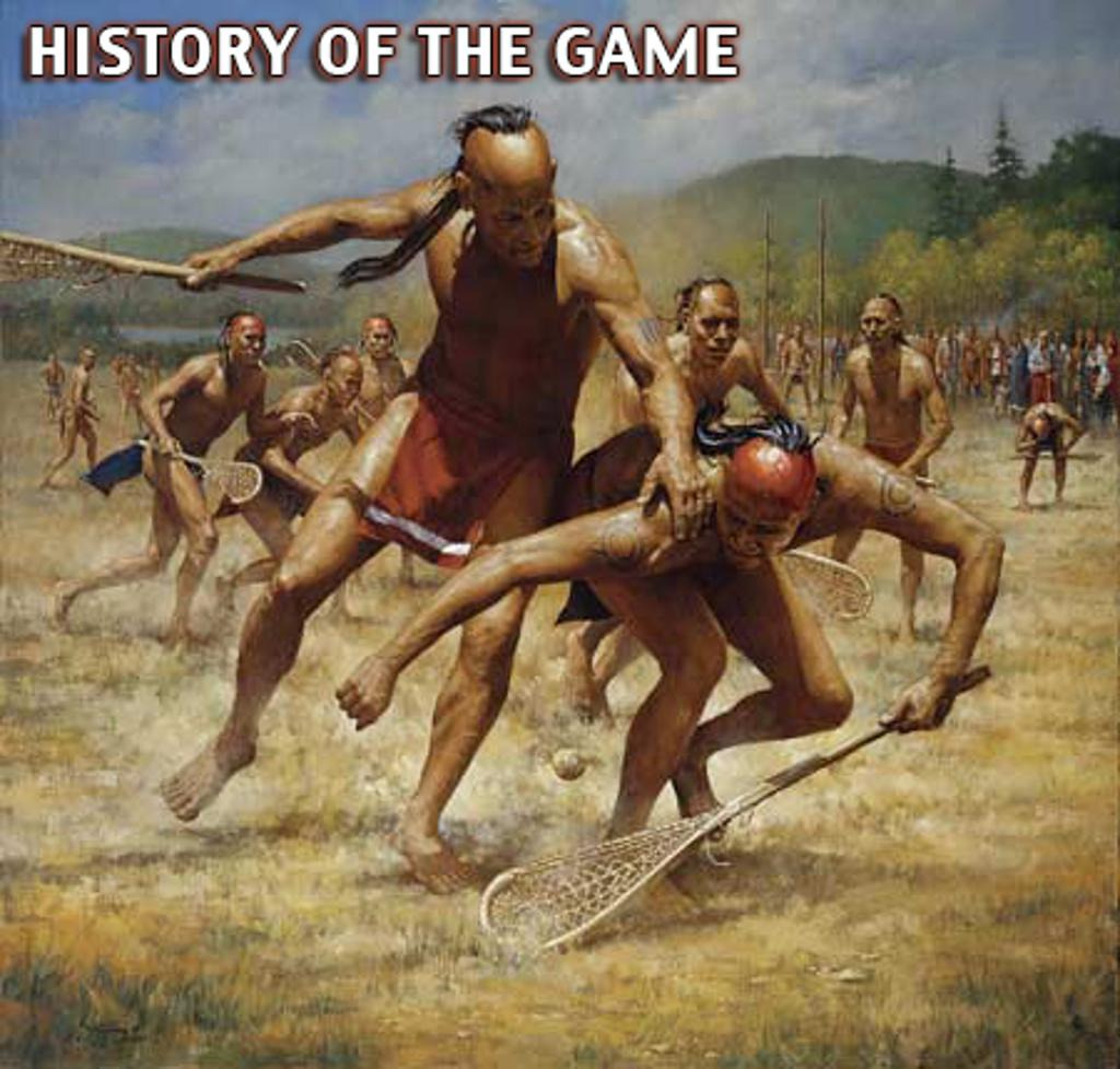 a history of lacrosse