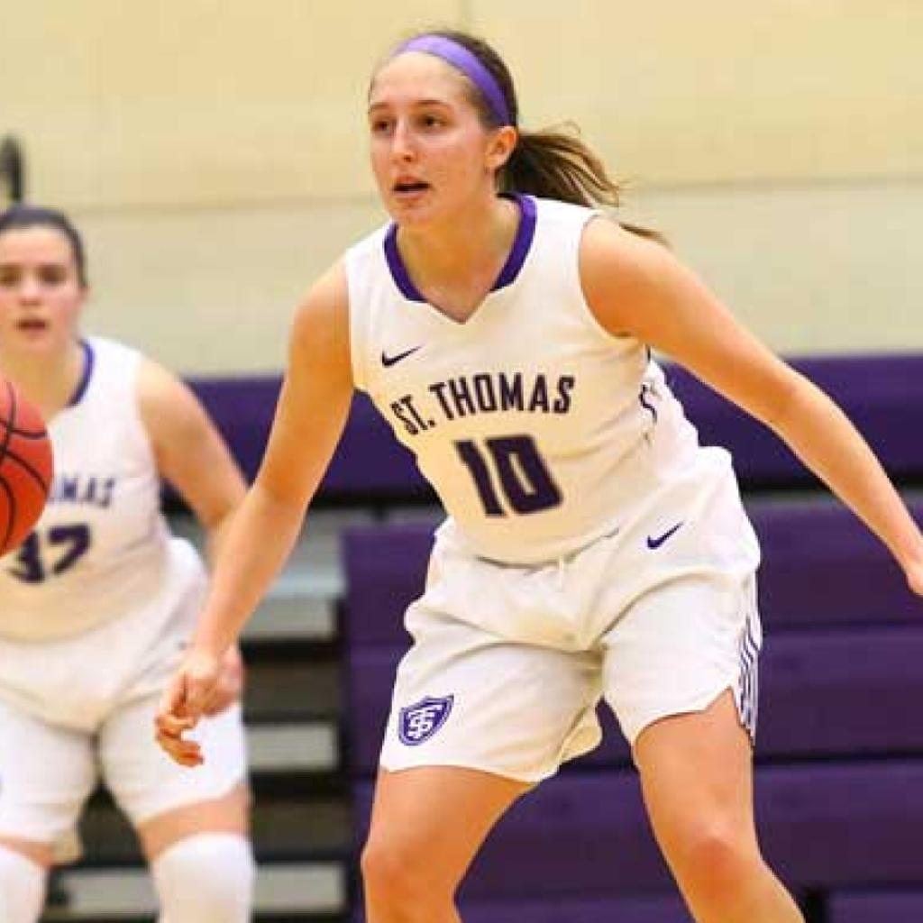 Lucia Renikoff / Team Captain University of St Thomas Women's Basketball / Washburn High School Graduate