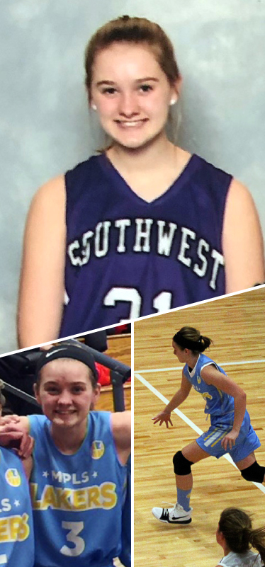 Sophie Breck Southwest Lakers Class of 2023  Mpls Lakers 2015-2018