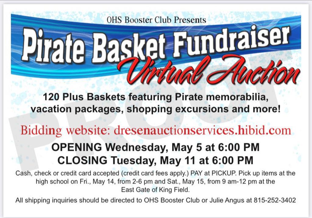 Pirate Basket Fundraiser Virtual Auction
