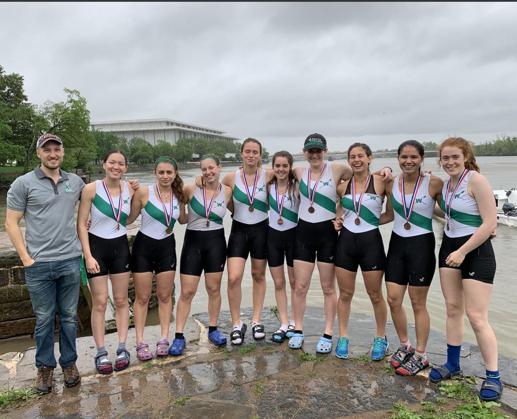 Girls V8 - 3rd at DC-Area Championship