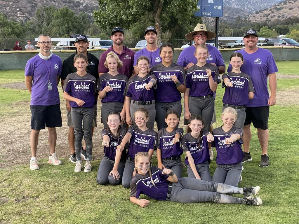 Congrats to Carlsbad 10U Gold — 2nd Place Finish — 2021 Navajo Summer Sizzle Tournament