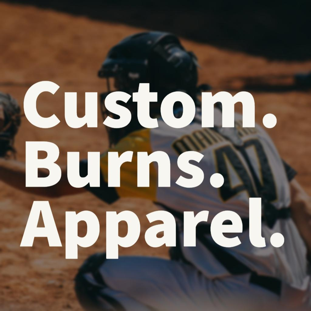 Custom Burns Little League Apparel