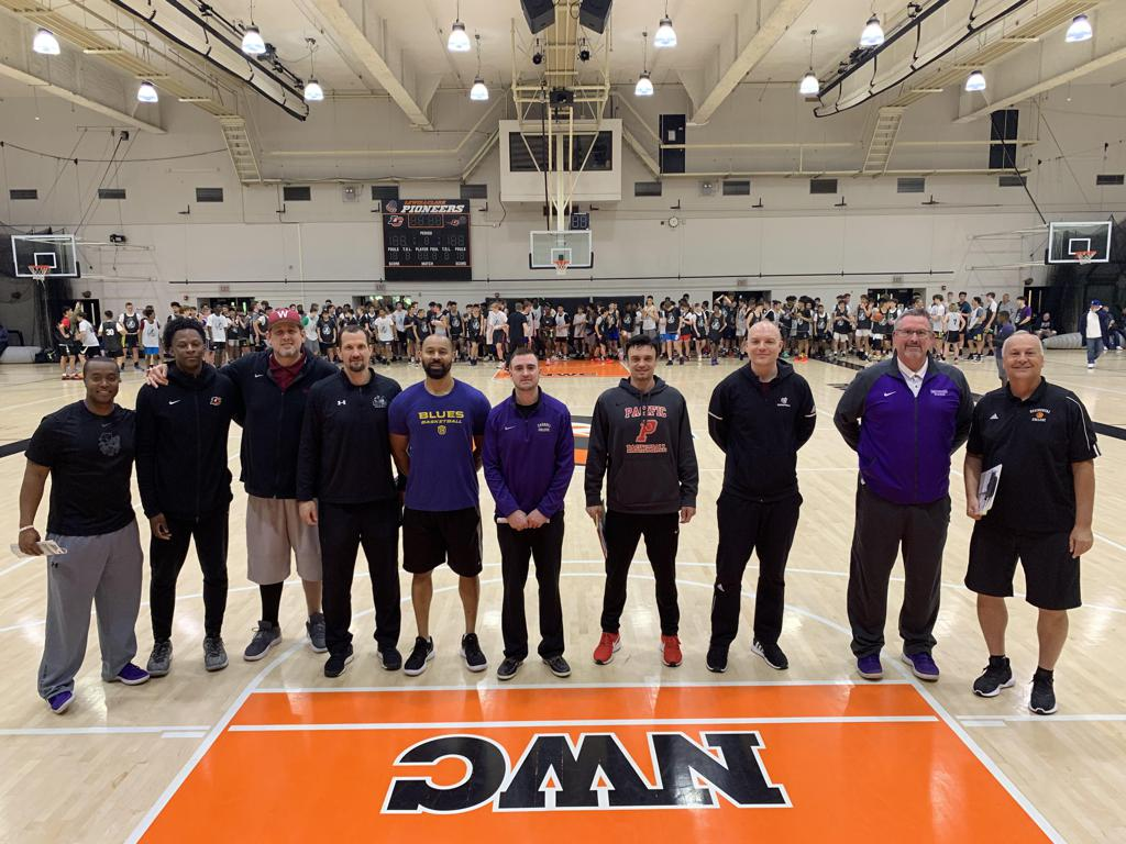 College Basketball Coaches Attending the High Academic Exposure Camp
